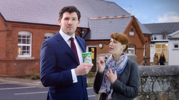 Glenisk has launched two TV ads with former rugby international, and now TV pundit, Shane Horgan