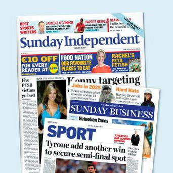 'The Sunday Independent grew its market share by 0.6pc'
