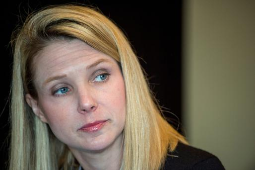 Marissa Mayer, president and chief executive officer at Yahoo. Photo: Bloomberg