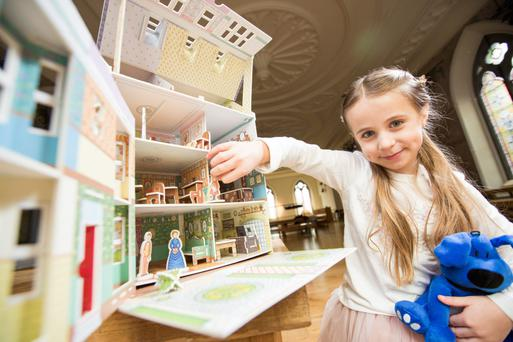 Alicja Doyle (6) from Finglas pictured at the launch of Zurich's new MultiYear Home Insurance