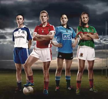 The Ladies' Gaelic Football campaign created by Chemistry