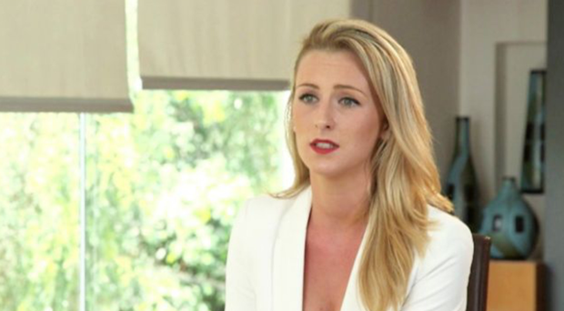 Michaella McCollum, pictured giving an interview to RTE last week