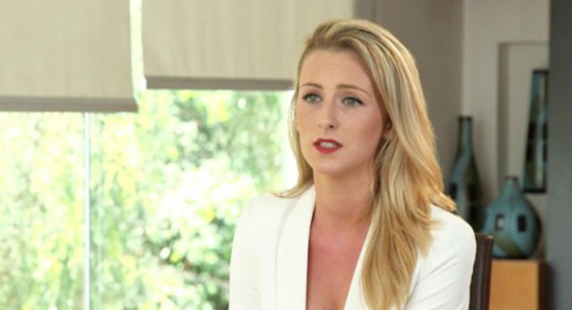 Michaella McCollum, pictured giving an interview to RTE