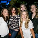 Pictured in the Sugar Club are Nicola Treanor, Dena Walker, Elaine Gillespie, Joanna Cawley and Jessica Stokes, all from Irish International
