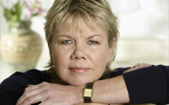 Sally Brampton was the founding editor of British Elle. Photo: Andrew Crowley