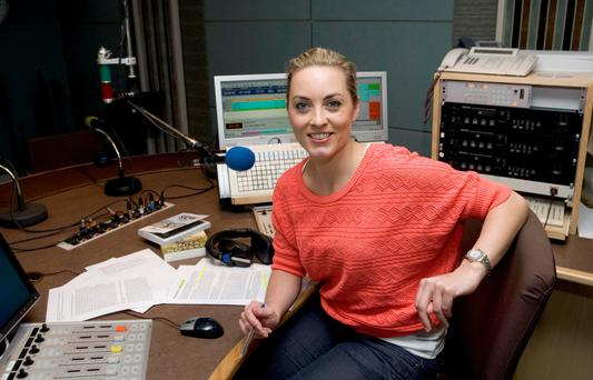 RTE presenter Kathryn Thomas