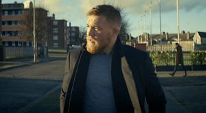 Mixed martial arts hero Conor McGregor appearing in the advert for Budweiser