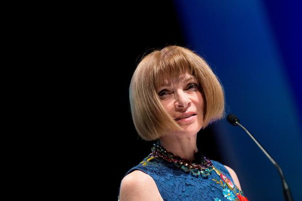 Vogue magazine boss Anna Wintour takes to the stage at Cannes Festival of Creativity