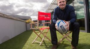 Former Ireland and Lions rugby captain Brian O'Driscoll