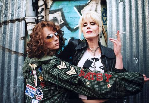 Jennifer Saunders and Joanna Lumley in the Ab Fab movie, which isn't a hit in some PR circles
