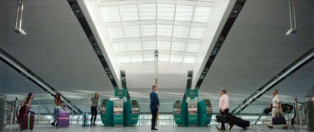 The KesselsKramer ad, voiced by Irish actor Chris O'Dowd, for Aer Lingus as it targets Ryanair customers
