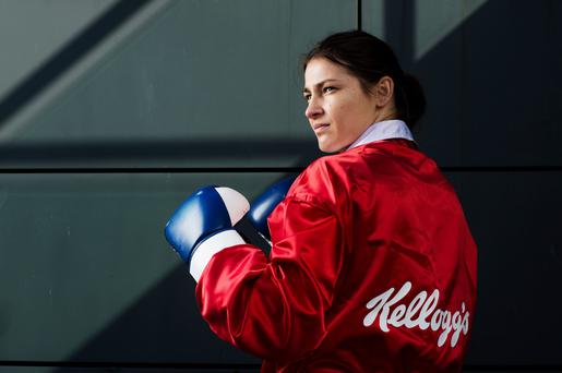 Katie Taylor, one of Ireland's major medal hopes, at this year's Olympics in Rio