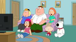 Rupert Murdoch's US TV arm makes hit shows, including 'Family Guy' (pictured) and 'The Simpsons'