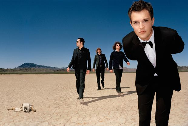 The Killers, who have worked with producer Steve Lillywhite.
