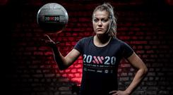 Mayo inter-county Gaelic football player Sarah Rowe featured in the recent Lidl 20x20 ads