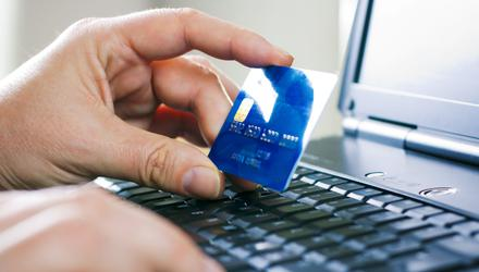 Shopping online. File photo