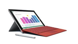 Microsoft Surface 3, €775 including keyboard from Harvey Norman.