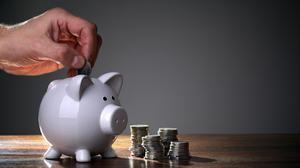 Households are saving more because they have fewer opportunities to spend. Stock image