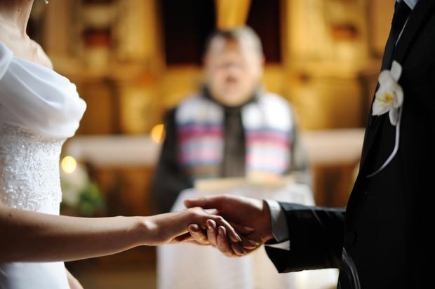 Don't take me to church: 35.2pc of modern couples don't get married in a church