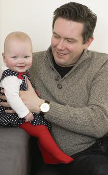 John Meagher and his daughter Emani