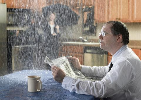 SHOCK AND AWWW: Burst pipes will dampen more than just your Sunday newspaper