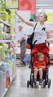 LOST IN THE SUPERMARKET: Blinded by brands