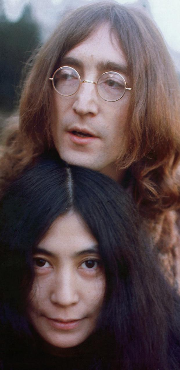 Lennon's On Sale Again: John and Yoko in 1968. Photo: Keystone/Getty