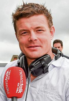 RETIRED: But Brian O'Driscoll has joined the Newstalk team