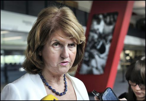 Last month new Tanaiste Joan Burton committed to building 25,000 houses a year.