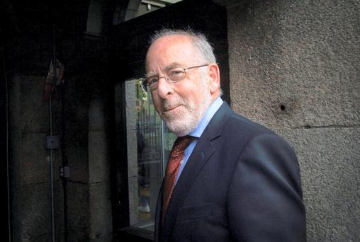 Out-going Central Bank Governor Patrick Honohan
