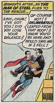 SUPERTAX: In a Superman comic from 1961, the tax man calculates that the Man of Steel owes Uncle Sam $1bn in back taxes — and must pay up