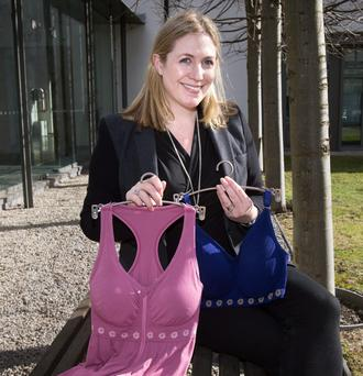 CREATIVE AROUND CANCER: Ciara Donlon, CEO and founder of Theya Lingerie, is now developing a range of swimwear. Photo: Tony Gavin