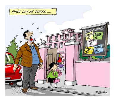 Back-to-school bills don't stop once your child runs through the school gates