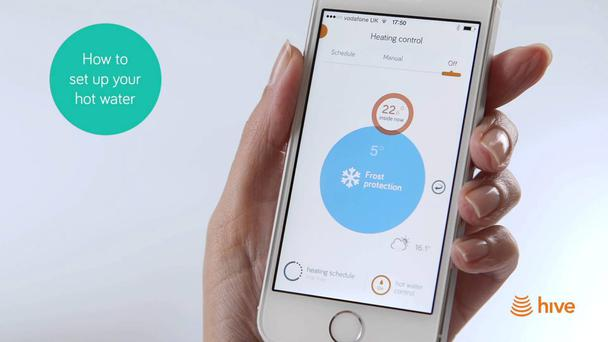 Bord Gais are currently rolling out the Hive app for remotely controlling your home heating.