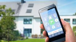 Your phone can control many Smart Home features.
