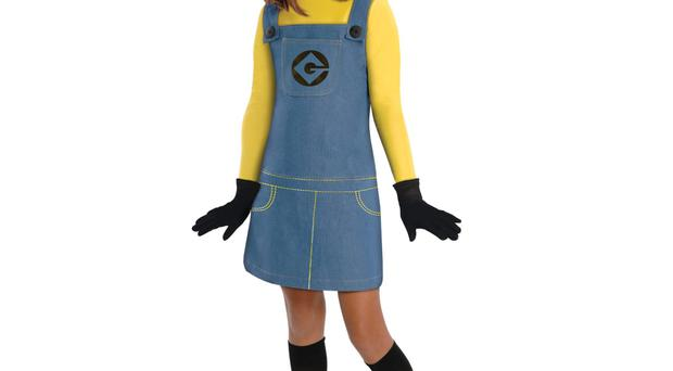 Despicable Me girls Minions costume, €33.