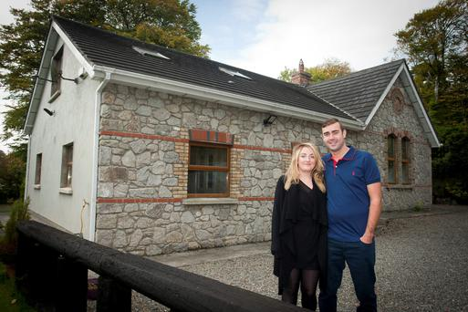 Permanent TSB helped Sandra and James Lyons buy their new home in Blessington after being refused a mortgage by AIB