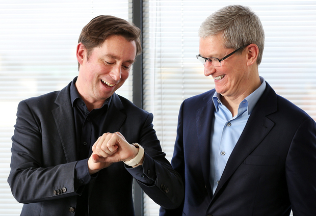 Adrian Weckler chats with Apple CEO Tim Cook, who paid a visit to Independent News and Media's offices on Talbot Street.