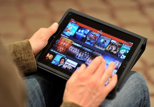 The Comreg report says 9pc of all households use Netflix (18pc in Dublin). Photo: Getty Images