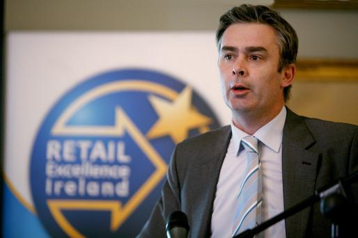 David Fitzsimons of Retail Excellence Ireland. Photo: Fennell Photography