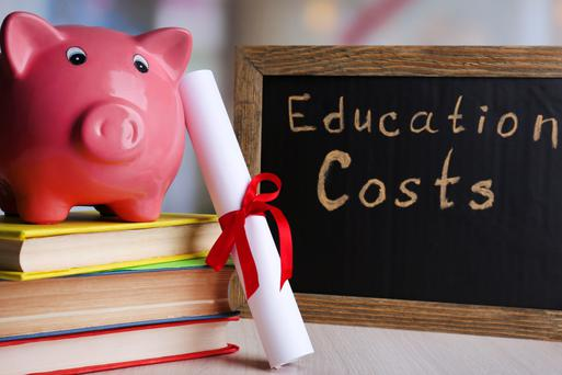 The cost of education is rising