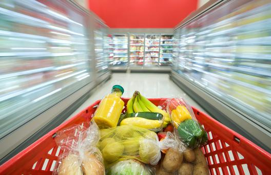 Supermarket dash: ask yourself if you need to use a trolley every time you shop