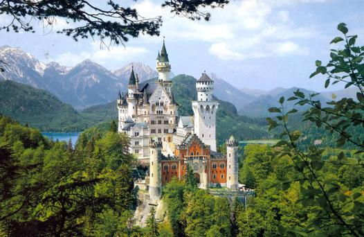 Be it ever so humble, there's no place like... Neuschwanstein, King Ludwig II's castle in Bavaria