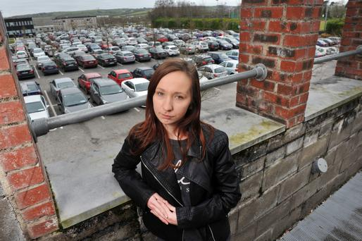 Karolina Matczak from Midleton, Co Cork who was the victim of a scam when she bought a car, later proved to be stolen. Photo: Daragh Mc Sweeney/Provision