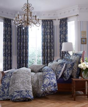 Selected Dorma bedspreads are reduced to €60, and the matching duvet covers are 50% off at arnotts.ie