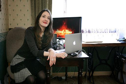 'Gaming is the art form of the technological age. It combines creativity and storytelling with computers,' says Niamh Cunningham. Photo: Brian Farrellover