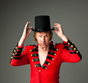 Jason Byrne will be touring the country this July as part of his 20 Years A Clown show