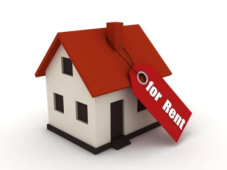 Are landlords just greedy gits, who are hell-bent on extracting every last cent they can in rents? (Stock picture)