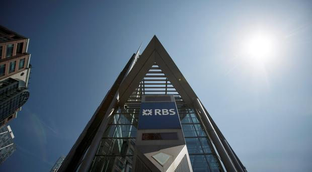 Royal Bank of Scotland Group Plc's (RBS) headquarters in London