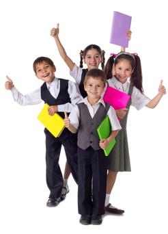 Get a dig out for school uniforms (stock photo)